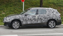 BMW X1 seven-seater spy photo