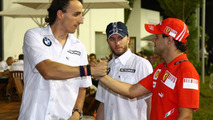 Webber, Kubica, Massa deny team movement rumours