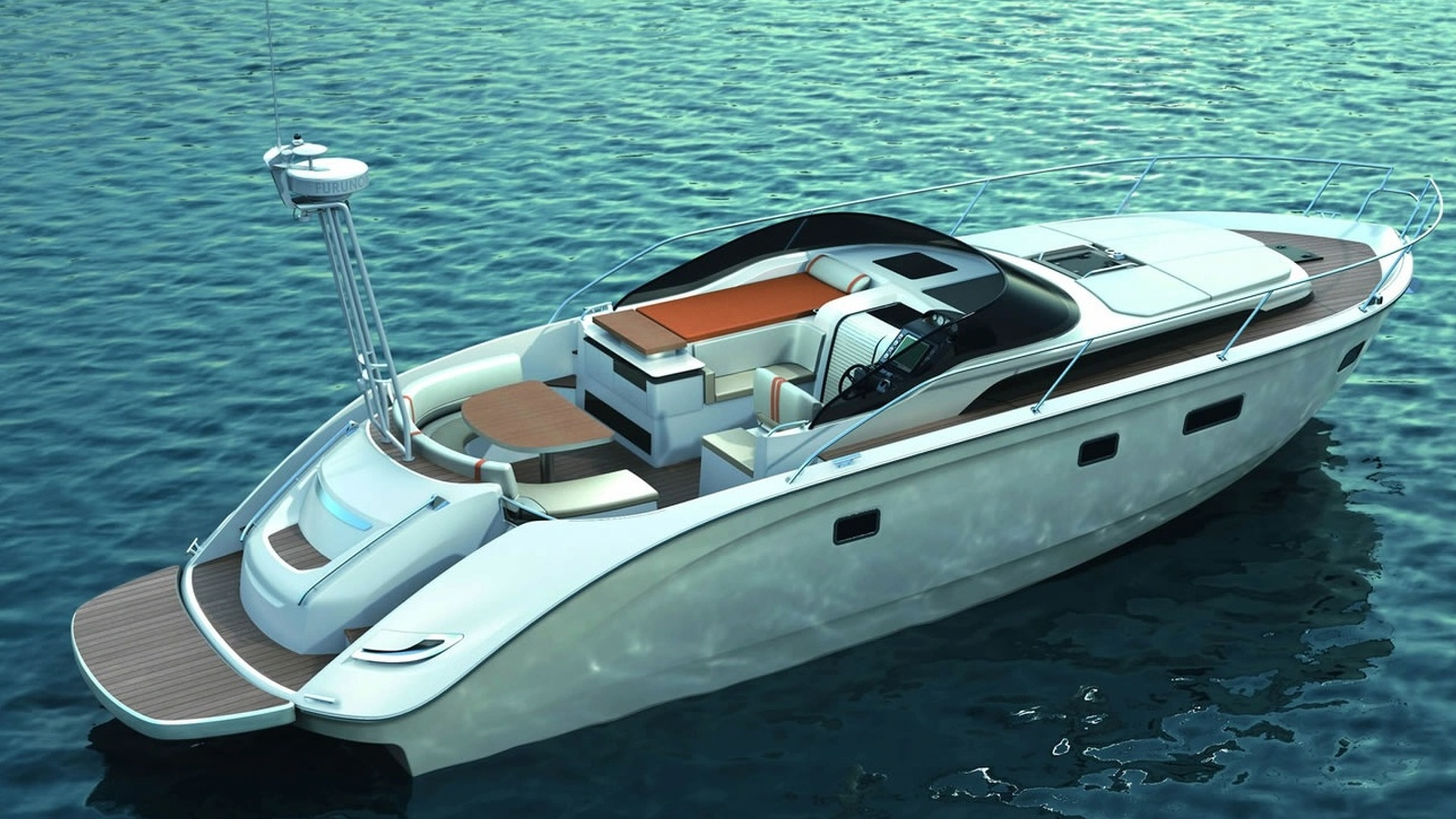BMW Designed *BAVARIA Deep Blue 46* Presented at Düsseldorf Boat Show