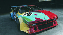 Andy Warhol, Art Car, 1979 - BMW M1 Gruppe 4 Rennversion