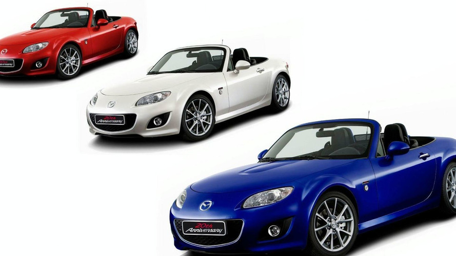 Mazda MX-5 20th Anniversary Special Edition Announced for Europe - Debut at Geneva