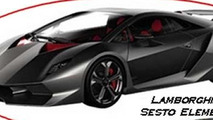 Lamborghini Sesto Elemento and Urus en route to Pebble Beach