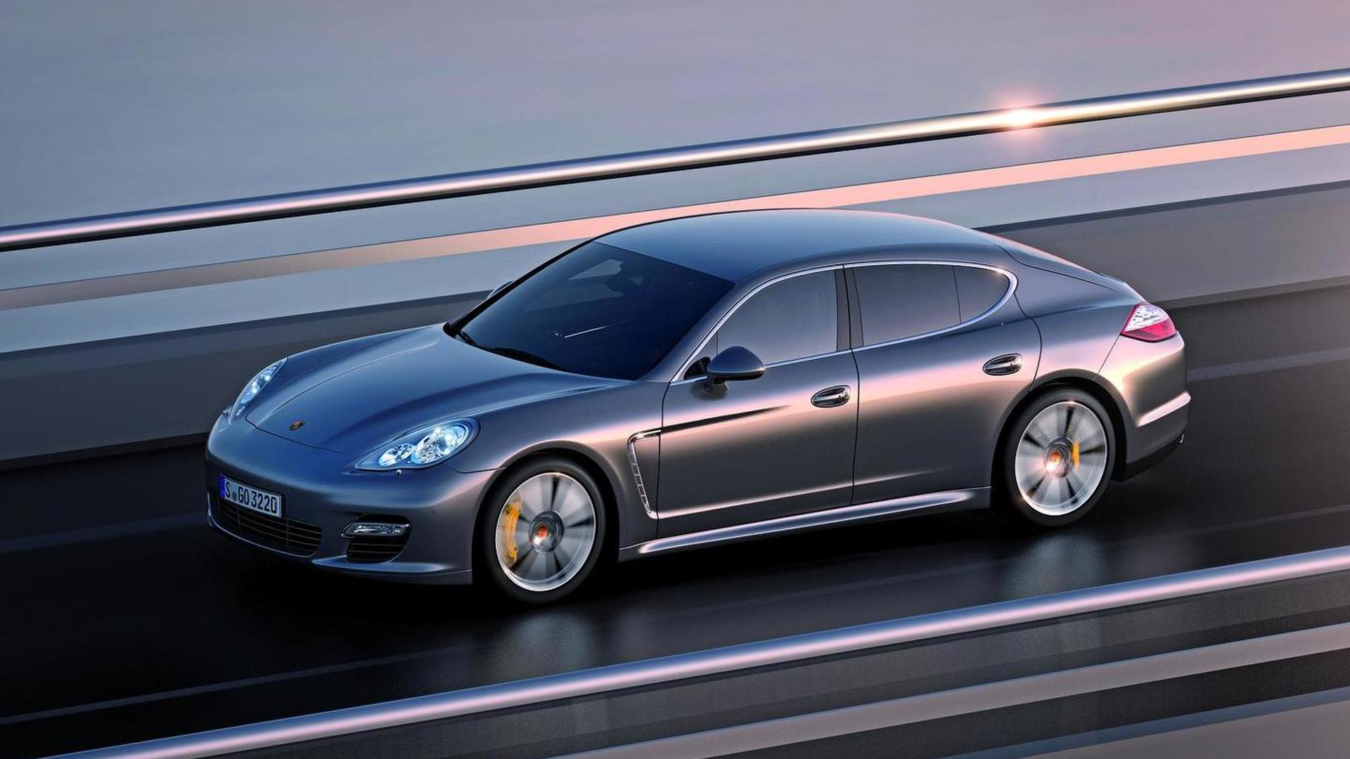 Porsche Panamera Turbo S revealed