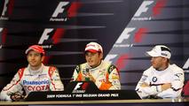 Bizarre Belgian GP grid order unravels