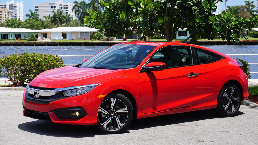 2016 Honda Civic Coupe Touring
