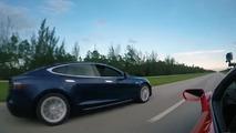 Tesla Model S P100D vs. Lamborghini Huracan, RIP combustion engines