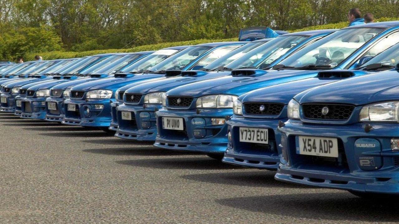 100 Subaru Impreza P1s at Prodrive 09.05.2010