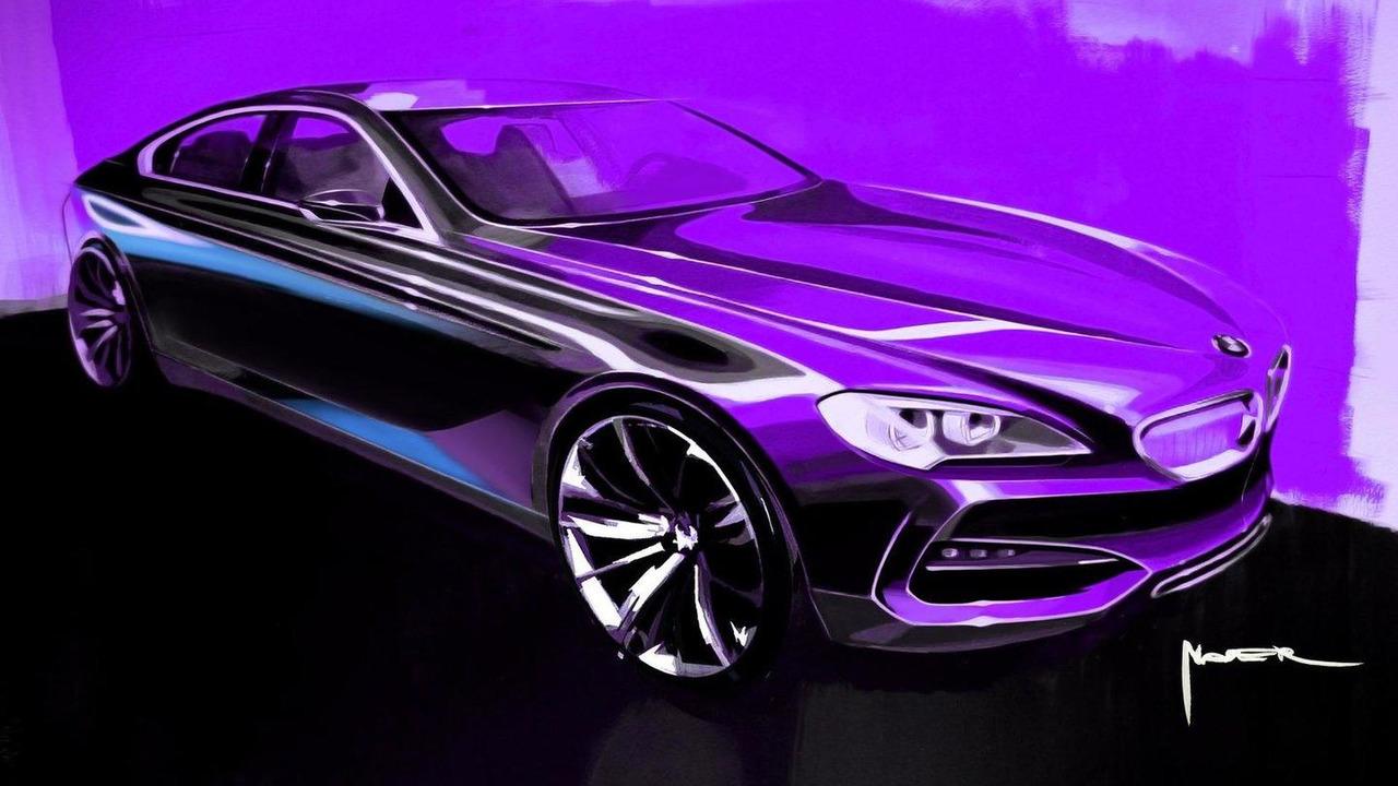 BMW Concept Gran Coupe, design sketch 07.05.2010