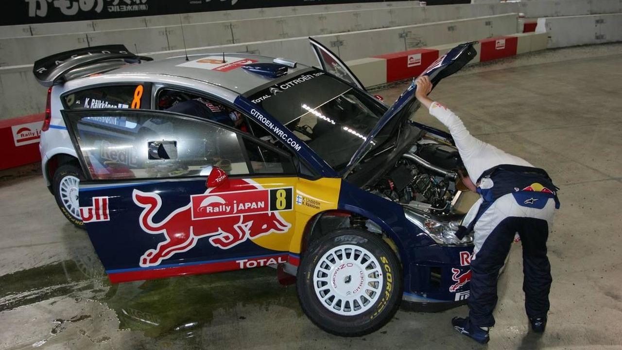 Kimi Raikkonen (FIN) Kaj Lindstrom (FIN), Citroen C4 WRC, Citroen Junior Team - Rally of Japan, World Rally Championship 2010, Rd 10, 10-12.09.2010 Japan