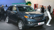 2010 Kia Sorento European debut in Frankfurt