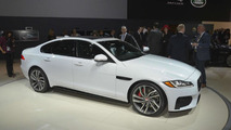 2016 Jaguar XF at 2015 New York Auto Show