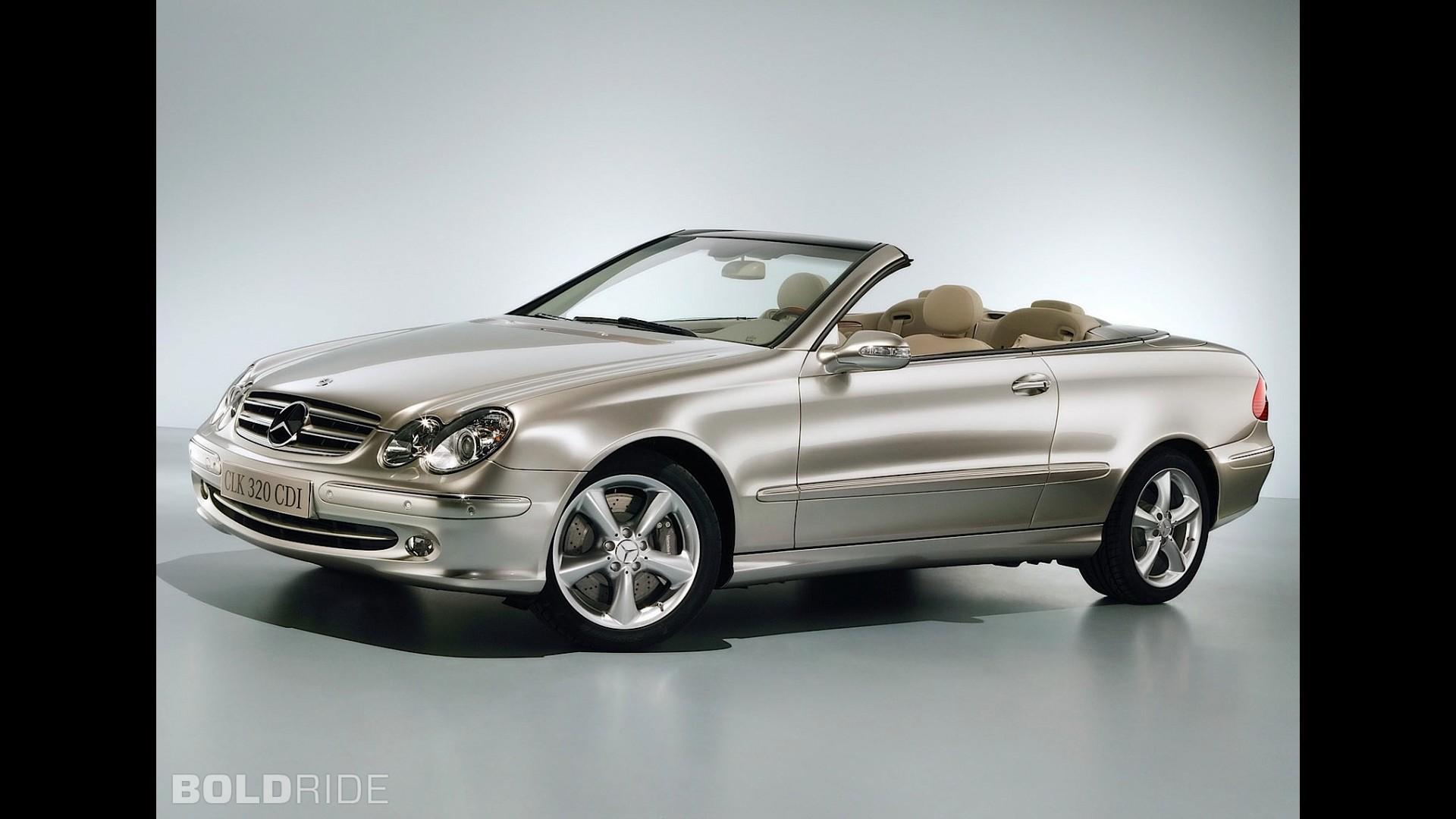 Mercedes benz clk320 cdi cabriolet for Mercedes benz clk convertible