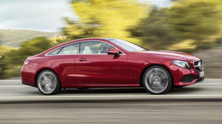 Mercedes Classe E Coupé : officielle !
