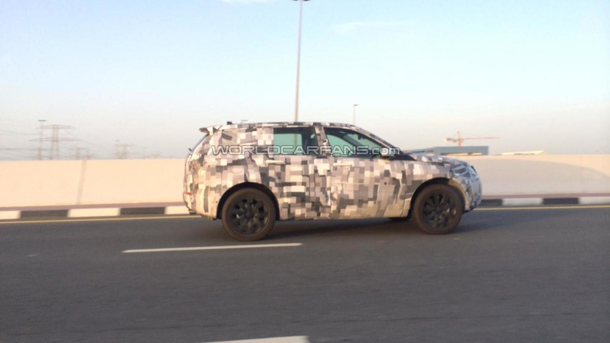 WCF reader spots possible Land Rover Discovery Sport in Dubai