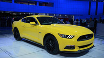 2015 Ford Mustang GT and Convertible arrive in Detroit