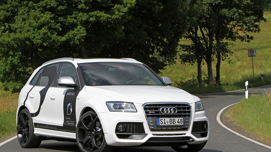 Audi SQ5 TDI tuned to 400 HP by B&B