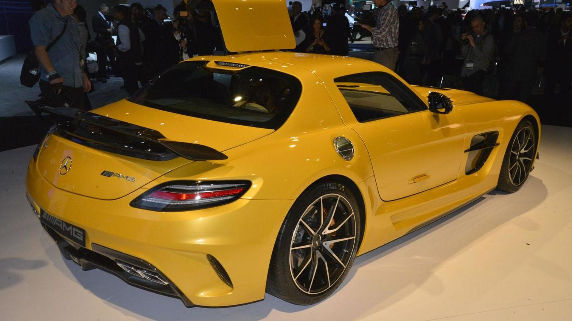 2014 Mercedes SLS AMG Black Series debuts in Los Angeles