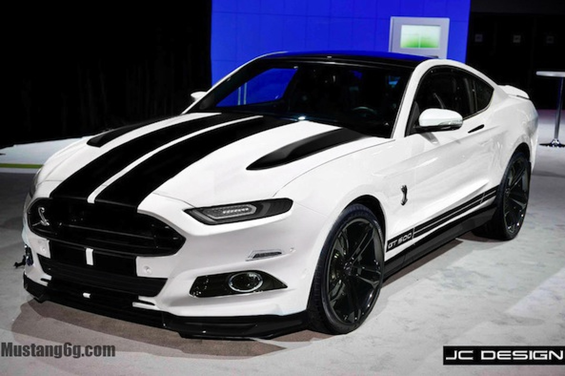 2015 Mustang Shelby GT500 Gets Rendered