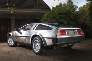This 24-Mile DeLorean Has Never Left Storage in its Life