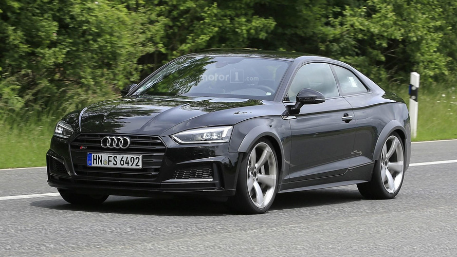 Audi RS5 test mule hides turbo heart