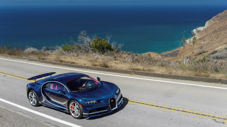 Bugatti Chiron makes U.S. debut today
