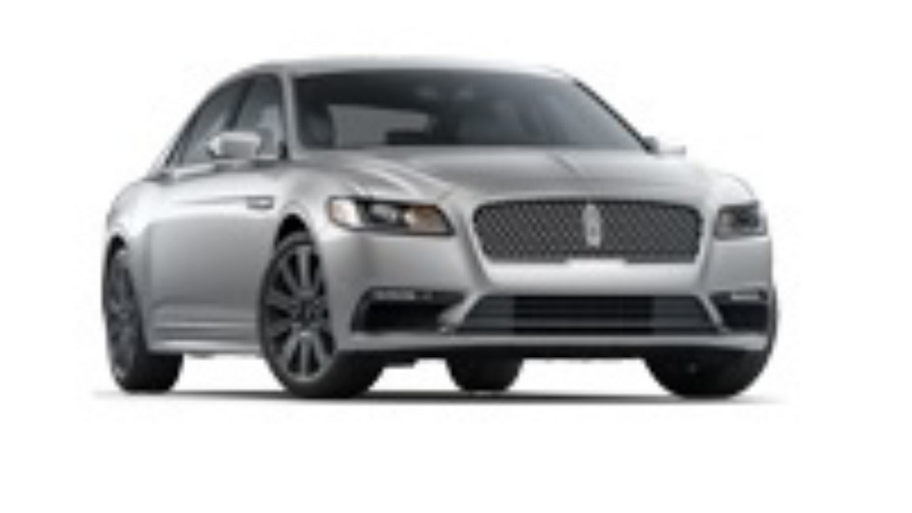 2017 Lincoln Continental leaked official image