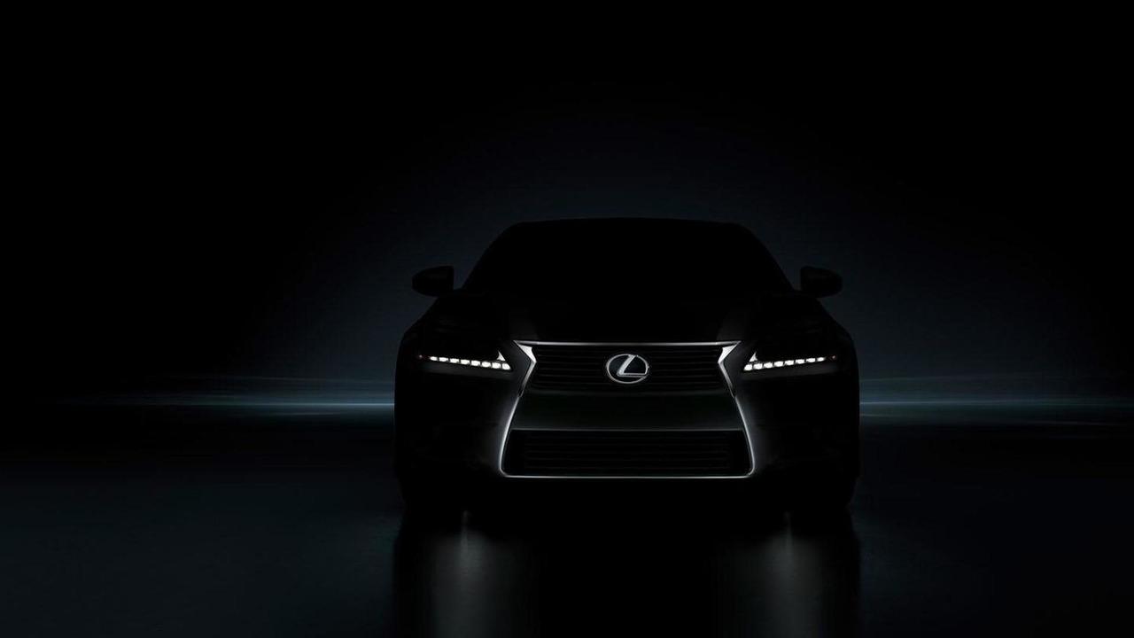 2013 Lexus GS teaser image - 4.8.2011