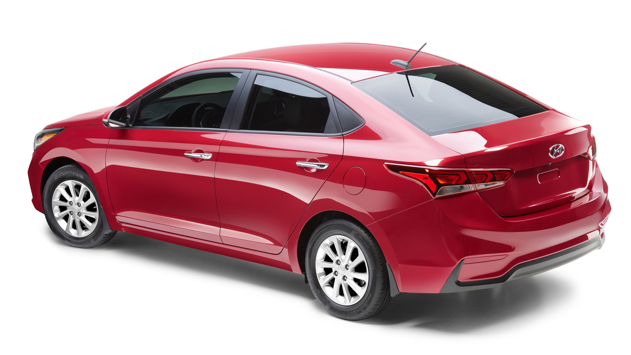 all new 2018 hyundai accent revealed in toronto. Black Bedroom Furniture Sets. Home Design Ideas