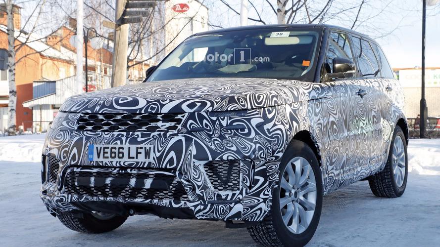 2019 Range Rover Sport plug-in hybrid spy photos