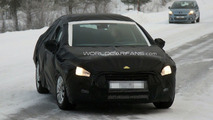 2011 Peugeot 508 winter test spy photos - 21.01.2010