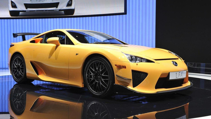 All aboard the hype train with new 800-hp Lexus LFA rumor