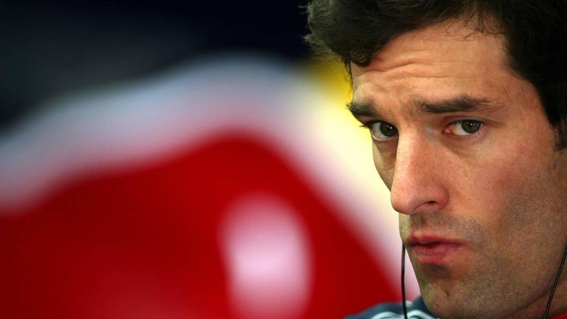 Webber said failed engine already 'on edge'