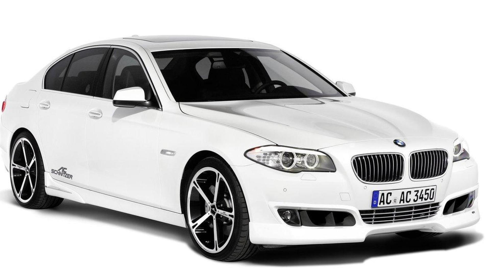 AC Schnitzer 5-Series F10 initial styling kit revealed
