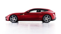 Ferrari Four FF Concept prowls the night [video]