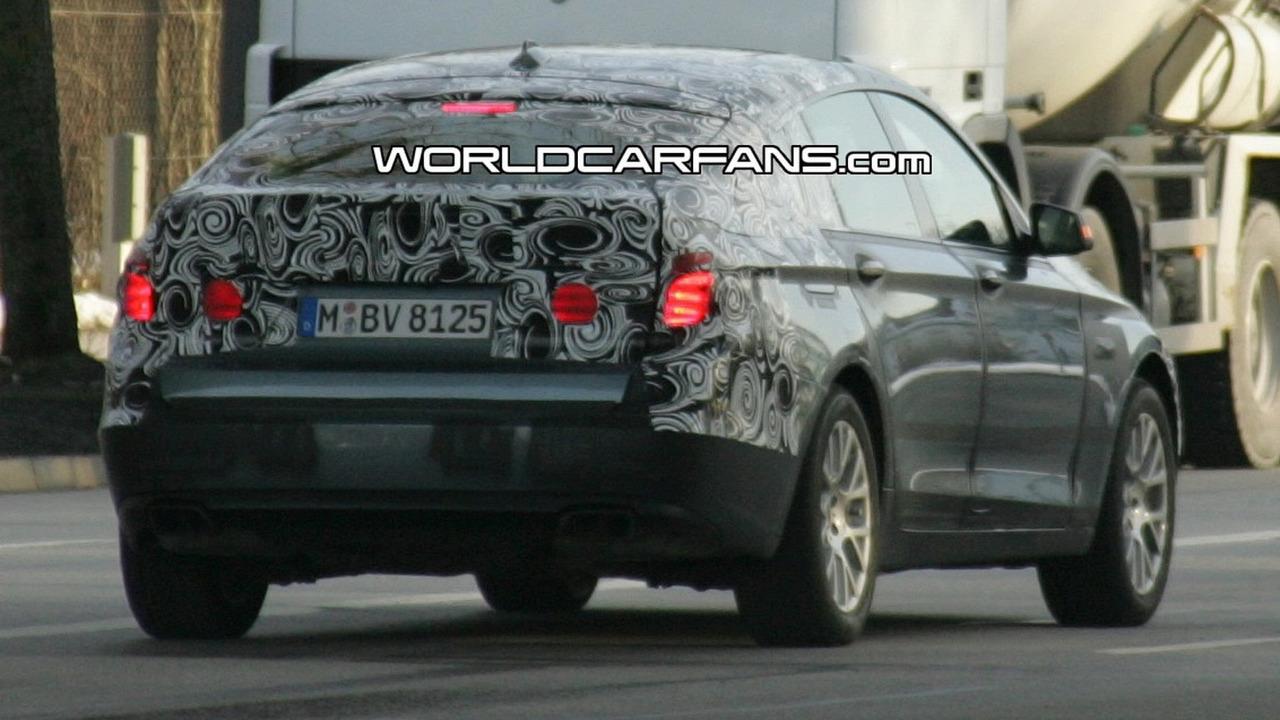 BMW 5-Series GT Spy Photo