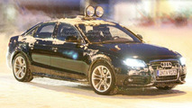 New Audi S4 Spied in Northern Sweden