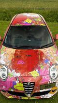 Alfa Romeo MiTo gets the art car treatment