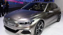 BMW Compact Sedan Concept unveiled, previews the 1-Series Sedan