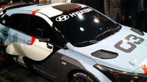 Hyundai i20 WRC rally car live in Frankfurt 2015