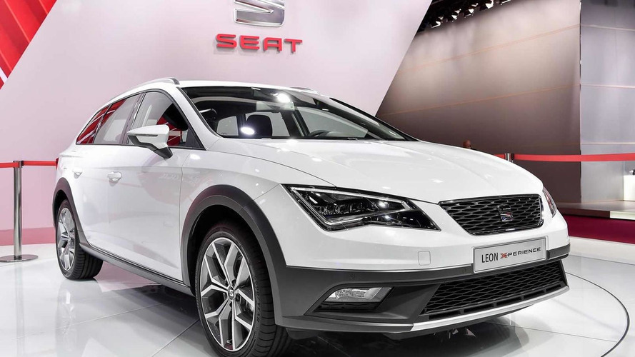 SEAT Leon X-Perience makes public debut at Paris Motor Show