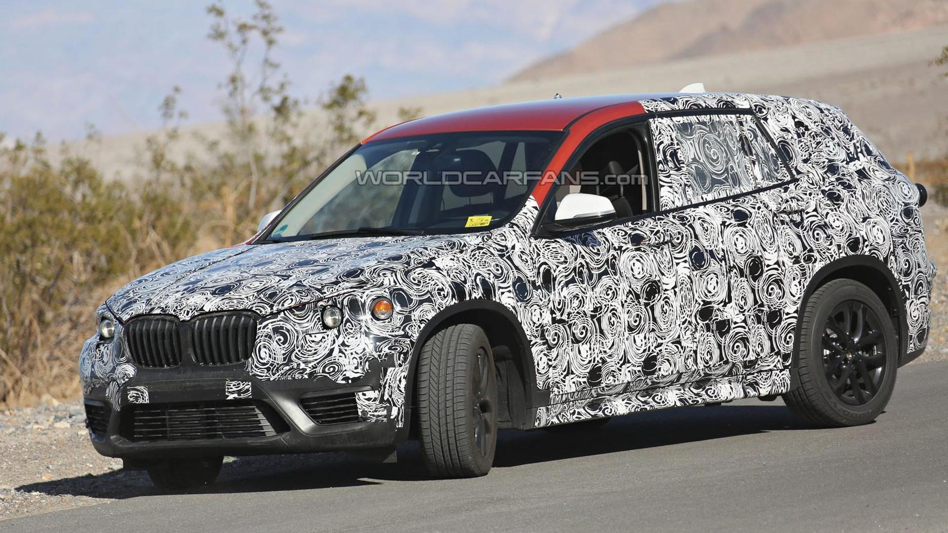 BMW allegedly planning 1-Series Sport Cross to slot below X1