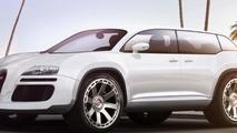 Bugatti SUV imaginatively rendered