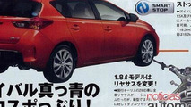 2013 Toyota Auris brochure leak - 29.5.2012