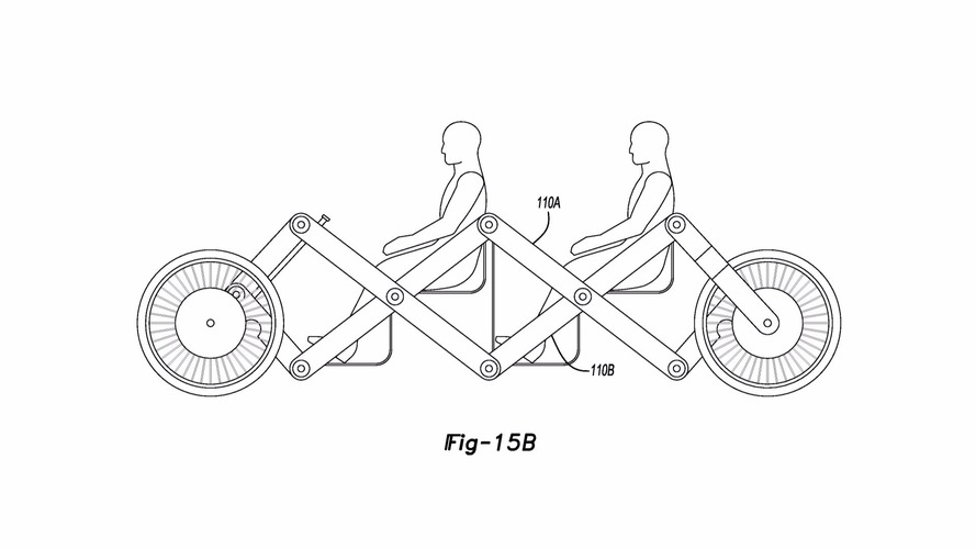 Ford patents low-cost folding car