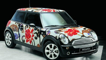 MINI wears Bisazza - Summer Flowers pattern
