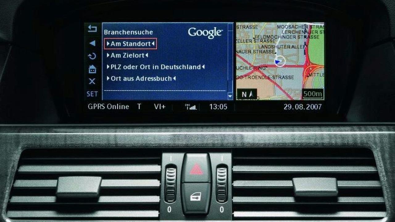 Google Search via BMW