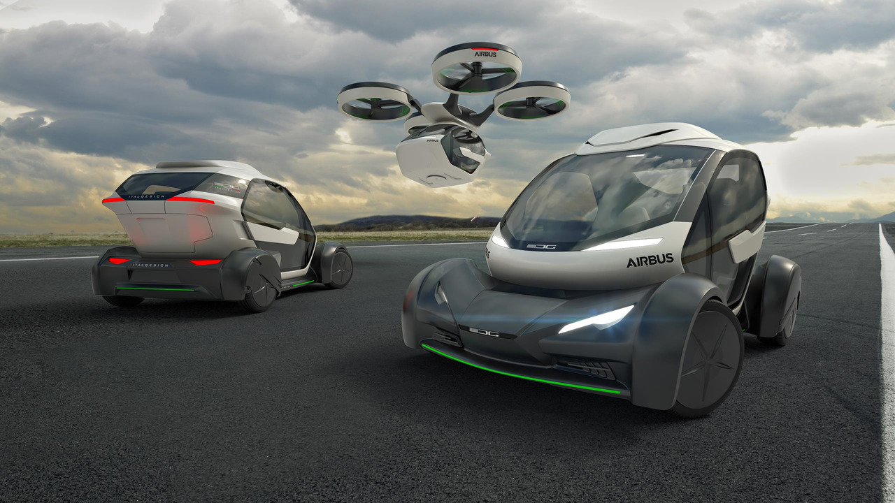 Italdesign And Airbus Pop Up Concept Can Fly Or Drive You