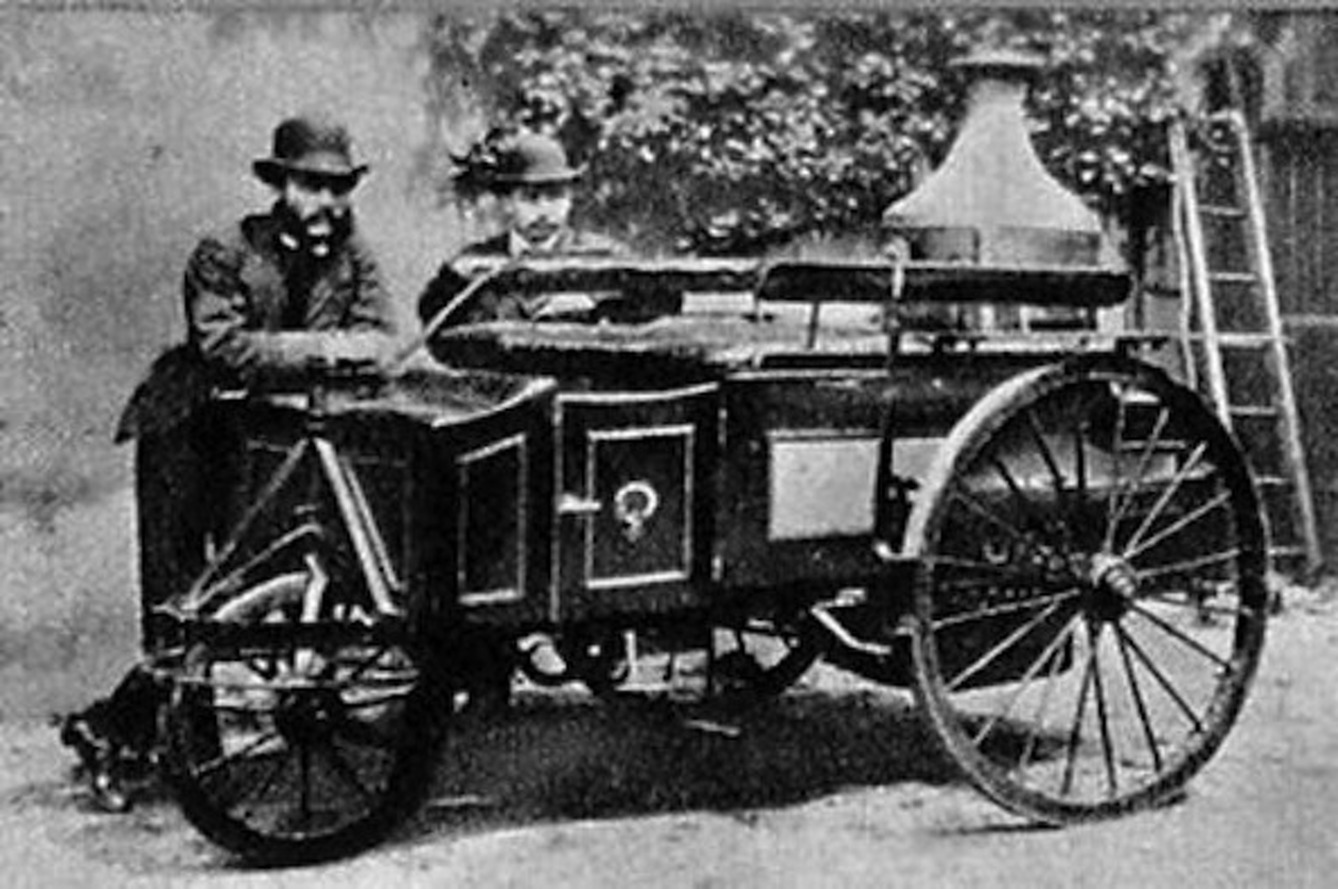 How the Steam-Powered Car Came to Be