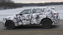 2016 Jaguar crossover spied wearing a Range Rover Evoque body