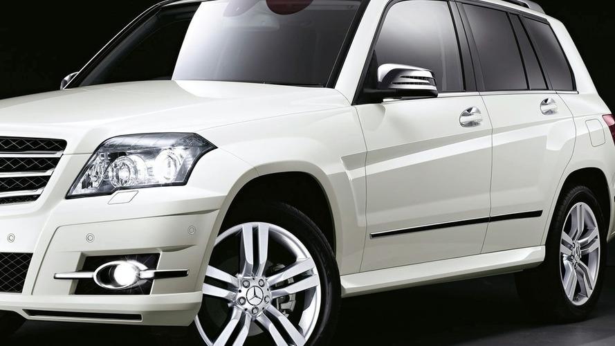 Mercedes-Benz GLK Genuine Accessories in Monochrome